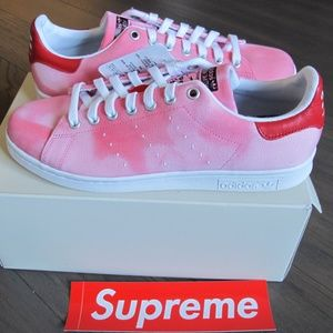 Size 5-14 Adidas PW HU Holi Stan Smith PINK AC7044